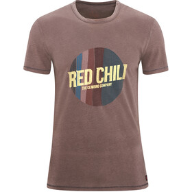 Red Chili Apani t-shirt Heren, brun
